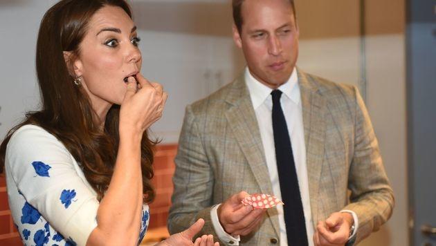 Hmmmm, schmecken die gut! (Bild: AFP)