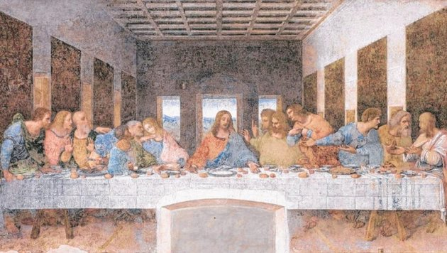"""""""So """"nackt"""" war das letzte Abendmahl noch nie (Bild: picture alliance / Mauro Ranzani)"""""""