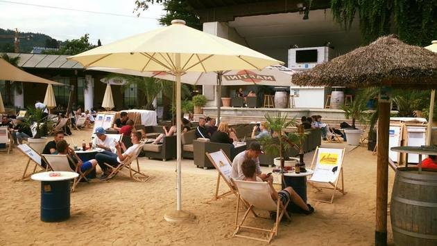 """Die Top 10 City-Beaches (Bild: facebook.com/BeachbarBregenz)"""