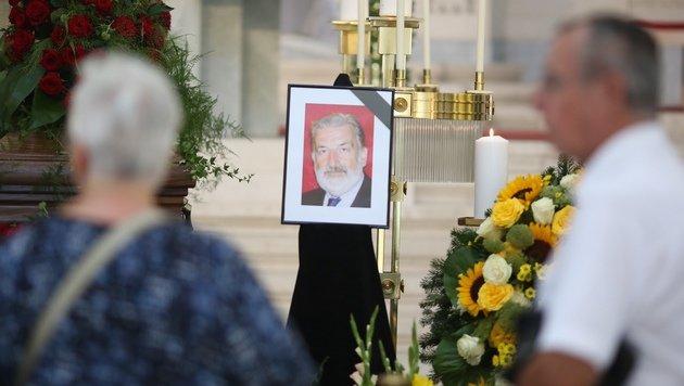 Die Trauerfeier fand in der Lueger-Gedächtniskirche statt. (Bild: Gerhard Bartel)