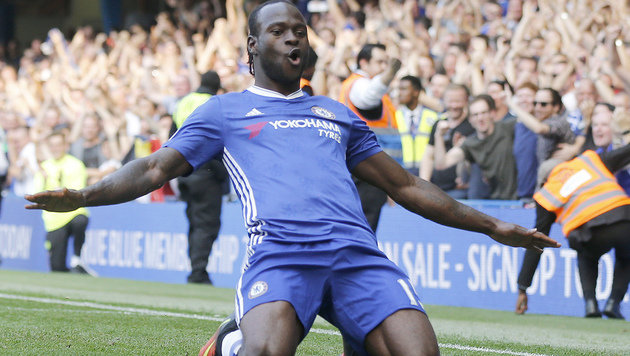 Chelsea-Torschütze Victor Moses (Bild: The Associated Press)