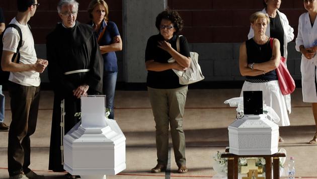 Unter den Opfern sind auch viele Kinder. (Bild: Associated Press)