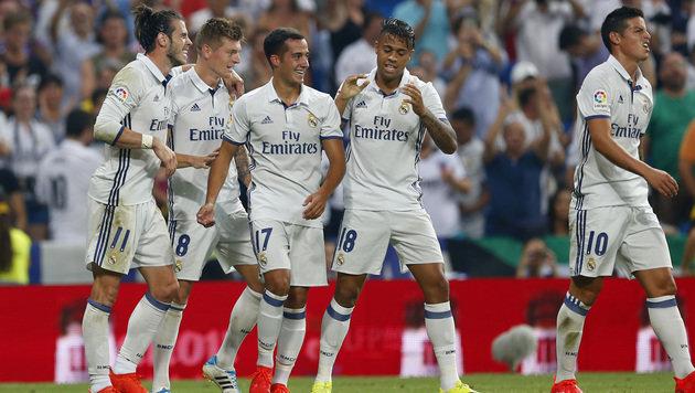 Real Madrid darf im Sommer wieder einkaufen (Bild: Associated Press)