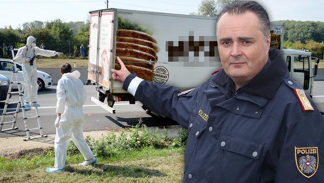 A4-Tragödie: Wie ein Polizist zum Minister wurde (Bild: APA/ROLAND SCHLAGER, Kristian Bissuti)