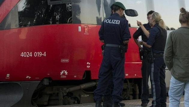 Kärnten: Italiener droht in Zug mit Amoklauf (Bild: APA/Dietmar Mathis Fotografie (Symbolbild))