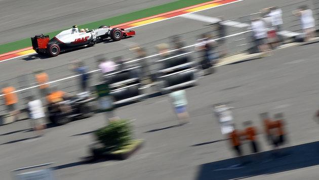 Rosberg rast in Spa zur Pole ++ Verstappen Zweiter (Bild: APA/AFP/LOIC VENANCE)