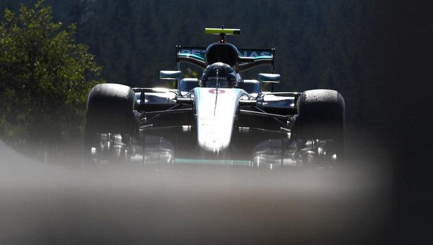 Rosberg rast in Spa zur Pole ++ Verstappen Zweiter (Bild: AP)