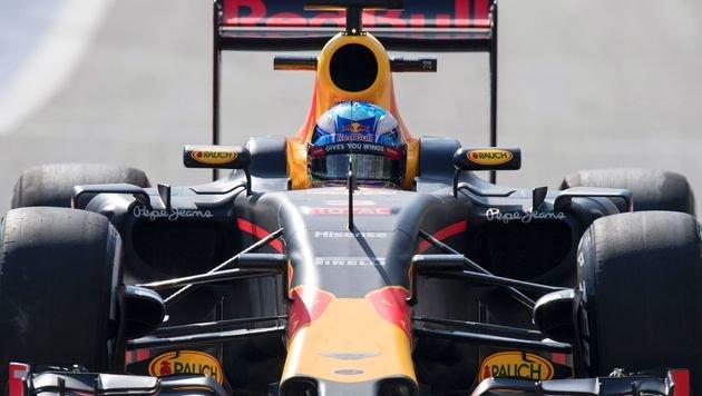 Rosberg rast in Spa zur Pole ++ Verstappen Zweiter (Bild: APA/AFP/JOE KLAMAR)