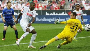 St�gers K�ln besiegt zum Saisonstart Darmstadt 2:0 (Bild: AFP)