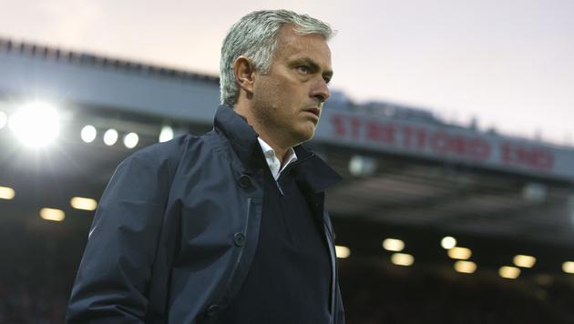 José Mourinho wegen Schiri-Beleidigung angeklagt (Bild: AP)