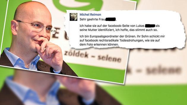 Grüner Abgeordneter verpetzt Hassposter bei Mutter (Bild: APA/HERBERT NEUBAUER, Screenshot facebook.com)