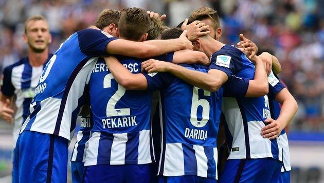 Hertha BSC besiegt Freiburg dank Last-Minute-Tor (Bild: AFP)