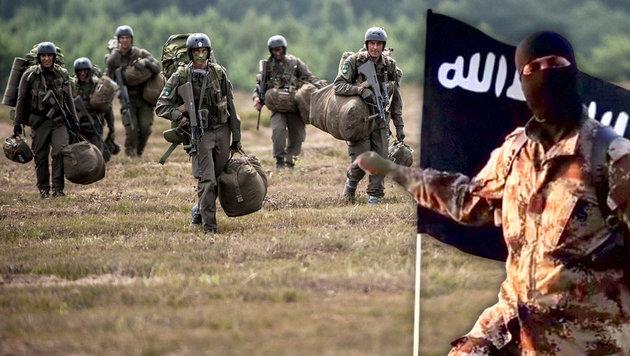 Islamisten unterwandern deutsche Bundeswehr (Bild: dpa- Zentralbild/Förster Martin, twitter.com)