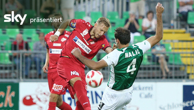 Mattersburg - St. P�lten 1:1 - das Highlight-Video (Bild: GEPA)