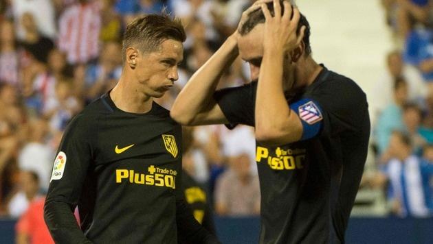 Nächster Rückschlag für Atletico Madrid (Bild: APA/AFP/CURTO DE LA TORRE)