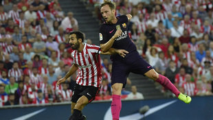 Rapid-Gegner Bilbao unterliegt Barcelona 0:1 (Bild: Associated Press)
