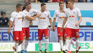 Sabitzer rettet RB Leipzig Remis beim Liga-Deb�t (Bild: AFP)