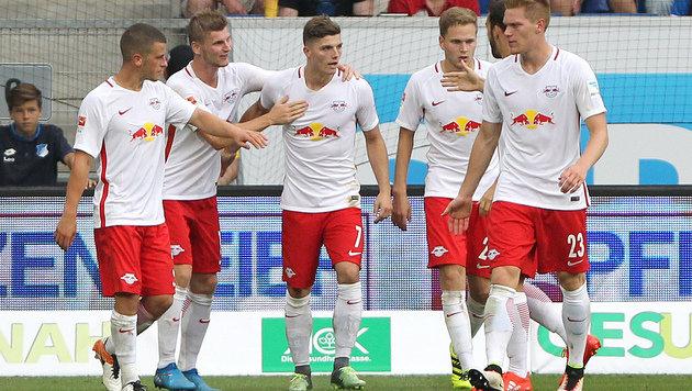 Sabitzer rettet RB Leipzig Remis beim Liga-Debüt (Bild: AFP)