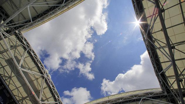 US Open: Spektakuläres Dach, neues Stadion (Bild: AP)