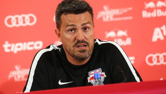 Salzburg-Coach Oscar Garcia (Bild: GEPA)