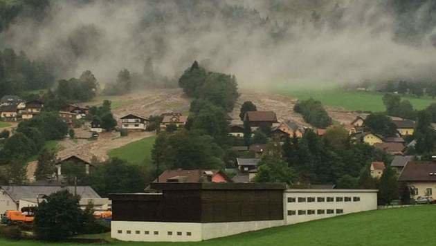 Chaos nach Unwettern in Kärnten und der Steiermark (Bild: Heribert Klaudrat)
