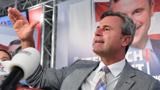 Wahlkampfauftakt: So will Norbert Hofer gewinnen (Bild: APA/ROLAND SCHLAGER)
