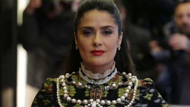 Salma Hayek (Bild: AFP)
