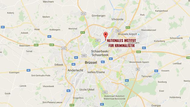 Brandanschlag in Brüssel: 5 Verdächtige in Haft (Bild: Google Maps)