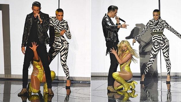 Britney Spears hatte alles fest im Griff. (Bild: Chris Pizzello/Invision/AP)