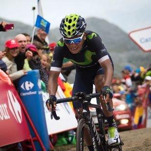Etappensieg & erneute Vuelta-F�hrung f�r Quintana (Bild: AFP)
