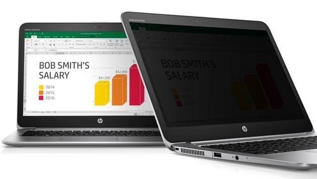 HP bringt Notebook mit integriertem Blickschutz (Bild: HP)