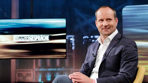 NEOS-Chef Matthias Strolz im ORF (Bild: APA/GEORG HOCHMUTH)