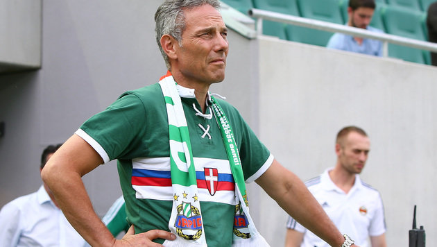 Rapid-Boss denkt schon an die Champions League (Bild: GEPA)