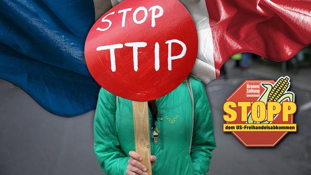 Nach TTIP-Nein: Auch den Pakt mit Kanada stoppen! (Bild: dpa/Christian Charisius, thinkstockphotos.de)