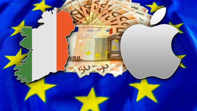 EU: Apple soll 13 Milliarden Euro an Irland zahlen (Bild: APA/AFP/PHILIPPE HUGUEN, thinkstockphotos.de, Apple Inc.)