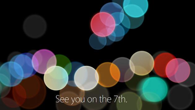 Neues iPhone: Apple lädt zu Event am 7. September (Bild: Apple)