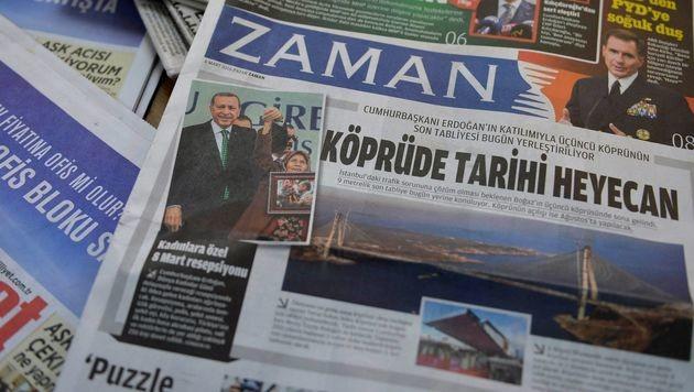 """Türkische Zeitung """"Zaman"""" schließt nach Drohungen (Bild: AFP)"""