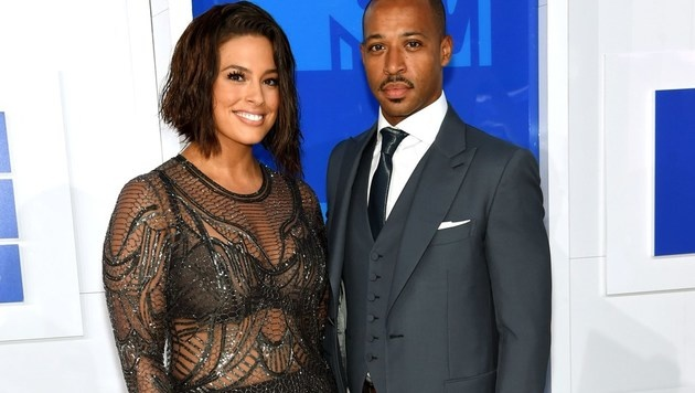 Ashley Graham mit Ehemann Justin Ervin (Bild: APA/AFP/GETTY IMAGES/Jamie McCarthy)