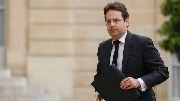 Frankreichs Außenhandelssektretär Matthias Fekl (Bild: APA/AFP/MATTHIEU ALEXANDRE)