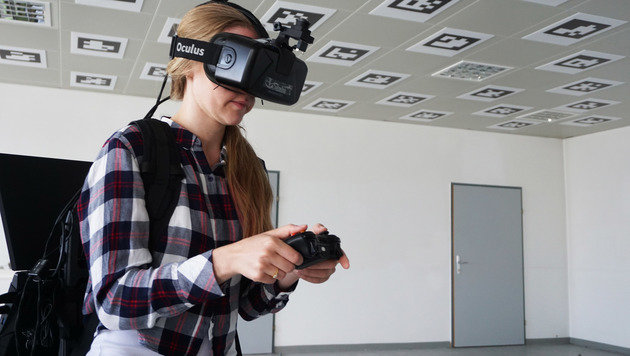 TU Wien macht Virtual Reality Beine (Bild: TU Wien)