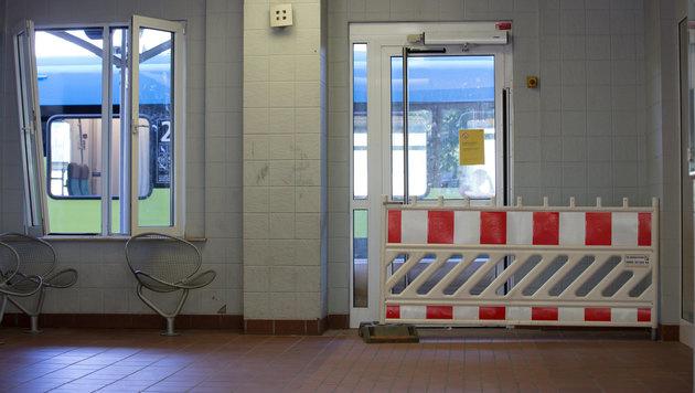 Der Bahnhof von Bad Bentheim (Bild: APA/dpa/Friso Gentsch)
