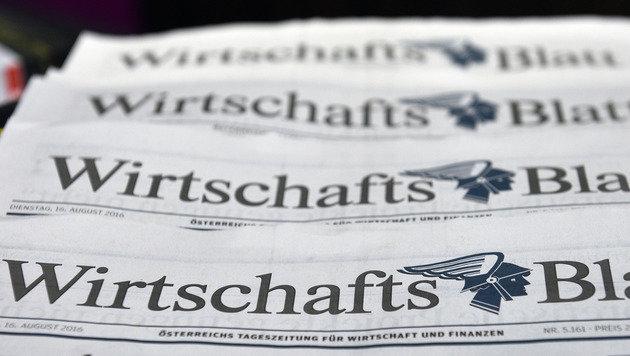 """""""WirtschaftsBlatt"""": Letzte Ausgabe am 2. September (Bild: APA/HANS PUNZ)"""