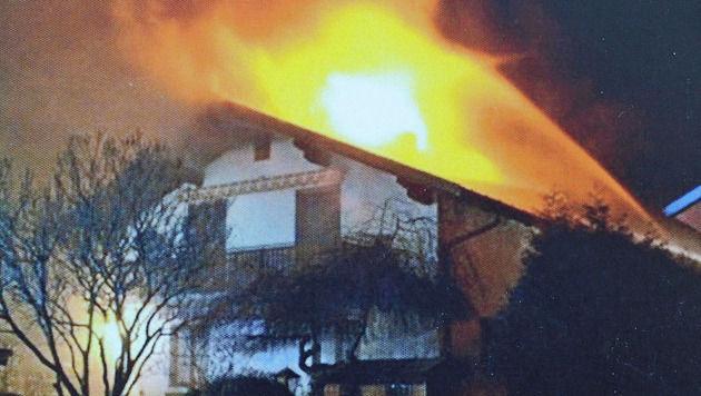 Im Jänner 2012 brannte das Haus der Pensionistin nieder. (Bild: Franz Crepaz)