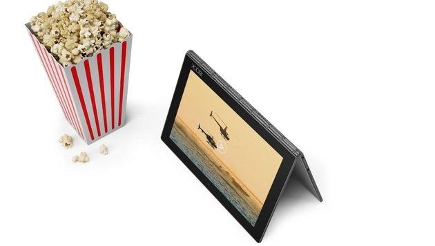 Yoga Book: So fühlt sich die Tablet-Innovation an (Bild: Lenovo)