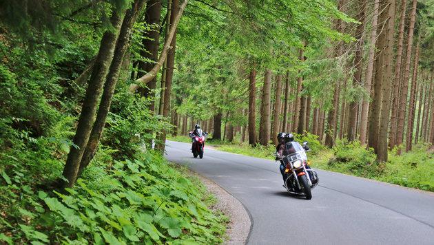 """""""Die beliebtesten Biker-Routen rund um Wien! (Bild: Thinkstockphotos.de)"""""""