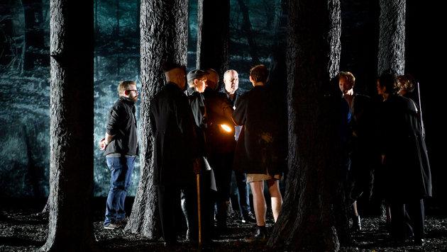 "Die Räuber"" als innovatives TV-Drama bei ServusTV (Bild: APA/BARBARA GINDL)"