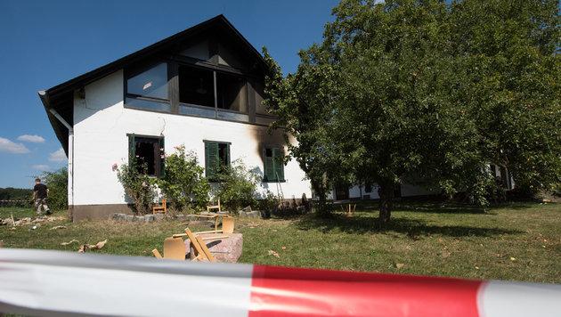 In diesem Flüchtlingsheim kam es zur Attacke. (Bild: APA/dpa/Boris Roessler)