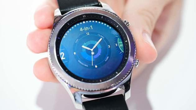 Gear S3: Samsung enthüllt neue Smartwatch (Bild: AFP)