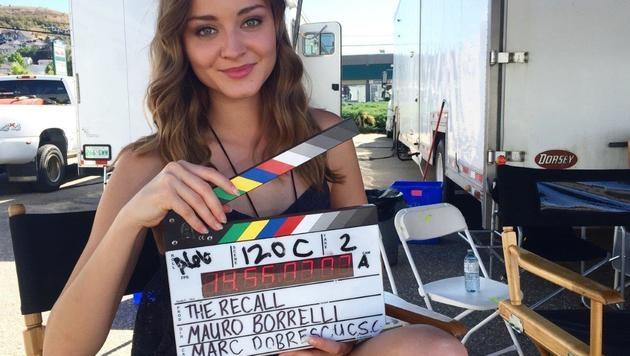 """Sie wollte Schauspielerin werden, jetzt hat Laura Bilgeri eine Rolle im Thriller """"The Recall"""". (Bild: Laura Bilgeri)"""