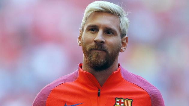 Messi fit für sein Argentinien-Comeback (Bild: AP)